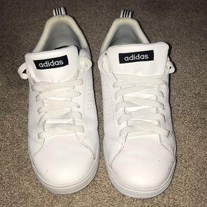 White Adidas (size 9)